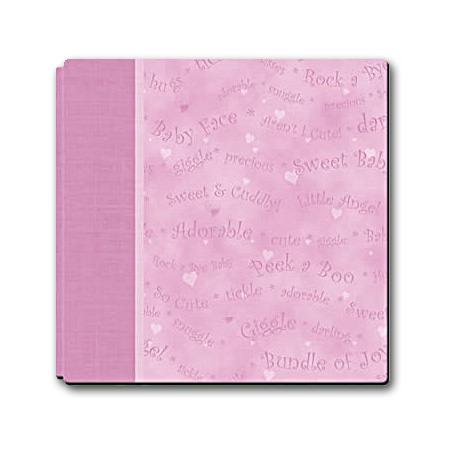 "Album 8"" x 8"" - Sweet Baby Girl - With Memory Markers - AL0008"